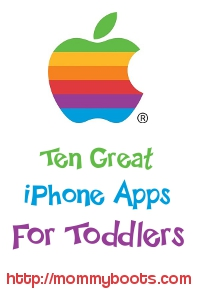 iPhone apps for toddlers