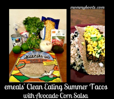 clean eating summer tacos emeals