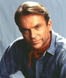 sam neill as alan grant from jurassic park